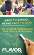 Back to School, Back to Sick: FLAVORx Helps Pharmacies Prepare for the New School Year