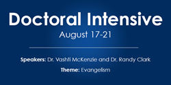 United Theological Seminary Doctoral Intensive August 2015