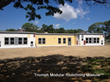 Triumph Modular nears completion of six modular classrooms at Barnstable Early Childhood Center, Hyannis West Elementary using modular building construction methods.