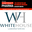 Whitehouse Laboratories Announces Participation at 14th Annual Contract Pharma Conference