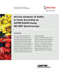 At-Line Analysis of Sulfur in Fuels Using ED-XRF Spectroscopy is Detailed in New Application Brief
