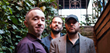 The Michael Gallant Trio (photo: Logan Grendel). Left to right: Michael Gallant, Dmitry Ishenko, Rob Mitzner.