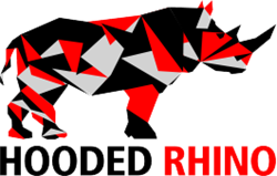 Hooded Rhino Logo