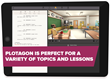 Plotagon Education is perfect for lessons—or just inspiring students to write.