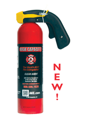 High Capacity STOP-FYRE® Fire Extinguisher