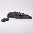 Haida Argillite Carved Pipe and Stone Sold for $7,670