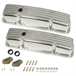 Cal Custom Finned Valve Covers for Small Block Chevy