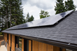 Solar PV Array on Roof of Pumpkin Ridge Passive House