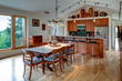 Dining and Kitchen Area in Pumpkin Ridge Passive House