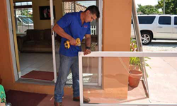 Sliding glass door repair Miami, Florida