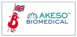 Banham Poultry Ltd. and Akeso Biomedical, Inc. Logos