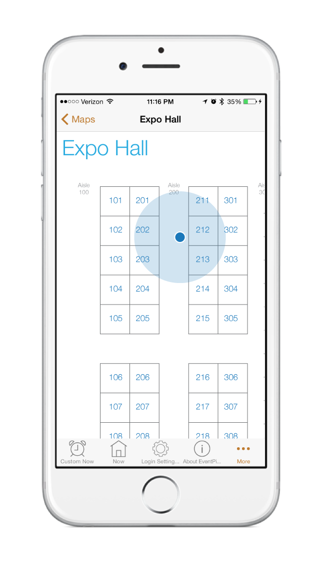 Ativ software launches indoor positioning in its for Wedding floor plan app