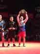 Anthony Artalona Wins Double Gold