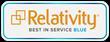 Evolver, Inc. Achieves Relativity Best in Service Designation