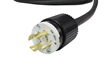 Indoor and Outdoor Rated 30 Amp Twist Lock Extension Power Cord