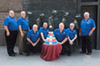 National leaders of the Fraternal Order of Eagles at the FDR Memorial in Washington, DC, celebrate the 80th Anniversary of the Social Security August 14, 2015.