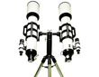 Pair of Galileo Telescope for matter-galaxies and Santilli Telescope for antimatter-galaxies