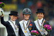Narrow victory for Dujardin in hard-fought FEI European Championships Freestyle