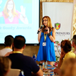 Liz H Kelly shared PR tips in Bali at Roger Hamilton Entrepreneur Conference