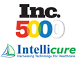 Inc. 5000 Includes Intellicure, Inc., Two Years in a Row