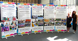Diverse Abilities receives donation of five new banners