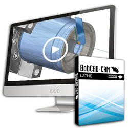 BobCAD-CAM V28 Lathe Training Professor Video Series for CNC Software