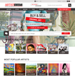 ArtistBe.com an Online Artist Community Launches a Newly Redesigned, Optimized and Responsive Mobile-Friendly Website