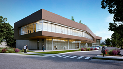Rendering, Sonora Regional Medical Center Outpatient Pavilion and Cancer Center