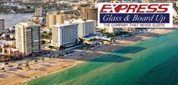 Fort Lauderdale, Storefront glass Repair