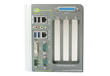 Dual Display, Dual GbE and Triple PCI/PCIe Slots