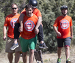 Carrying a colleague at the 2014 Adventure Team Challenge Colorado.