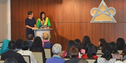 A representative of the Pakistani women of Brussels spoke of using the Urdu translation of The Way to Happiness as a cultural bridge that fosters tolerance and respect.