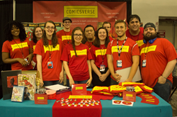 The ComicsVerse Family at Special Edition: NYC Comic Con 2015