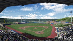 Monongalia County Ballpark in Morgantown, WV
