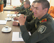 Most of the officers came from very rough Bogotá barrios, where drugs and crime are commonplace. The seminar gave them a new perspective and a tool they can use to create positive change.