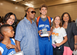 Stevie Wonder Attends the 2014 Hoop-Life Friendraiser