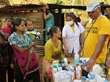 A Volunteer Minister from India, a doctor, provided medical care for those in refugee camps after the Nepal earthquake.