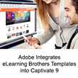 Adobe Integrates eLearning Brothers Templates into Captivate 9