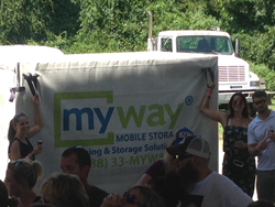 myway mobile storage of baltimore kegs and corks event