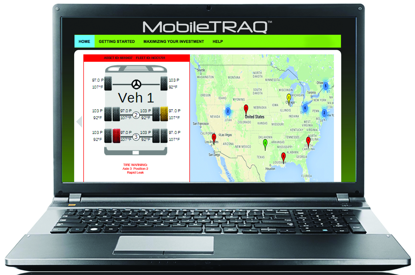 Newly Developed Commercial Tire Tracking System Delivers