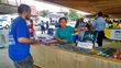 Volunteer at the Truth About Drugs booth 4 August, 2015, in Washington, D.C.'s 7th District.