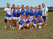 Texas Women's Gaelic Football Team sporting Scapes Incorporated jerseys