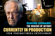 John Mulholland & Richard Zampella Filming Elmore Leonard Documentary Interviews in Detroit