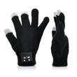 Gloves with microphone and speaker