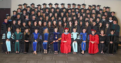 Summer 2015 graduates of the University of St. Augustine for Health Sciences