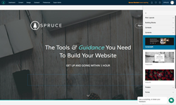 Spruce Drag And Drop Website Builder
