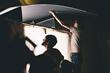 "Liberty University Cinematic Arts students serve on the set of ""War Room."""