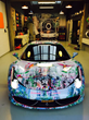 Klibansky Ferrari 458 Italia ArtCar just finished with the wrapping
