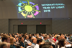A continuting celebration of the International Year of Light highlighted SPIE Optics + Photonics 2015.