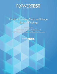 Electrical Testing Medium-Voltage Stator Windings